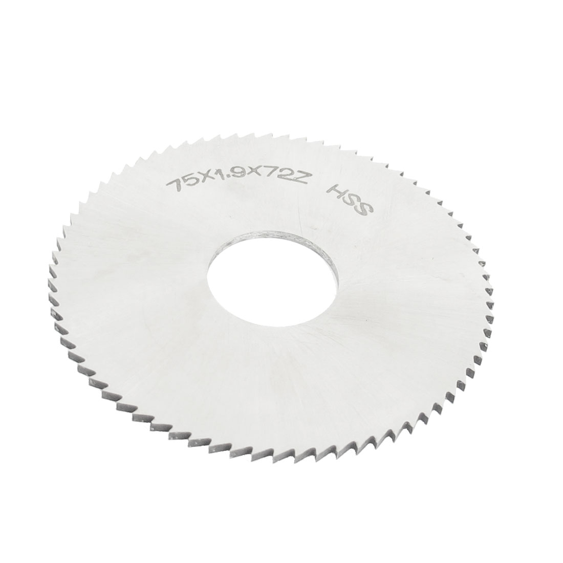 75mm x 22mm x 1.9mm Circular Rotated HSS Slitting Saw 72 Teeth 72T