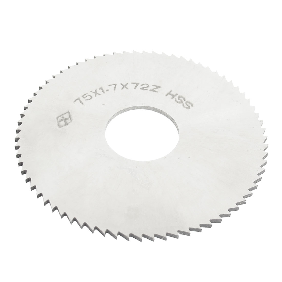 75mmx22mmx1.7mm 72 Teeth HSS Incision Milling Slotting Saws Cutter