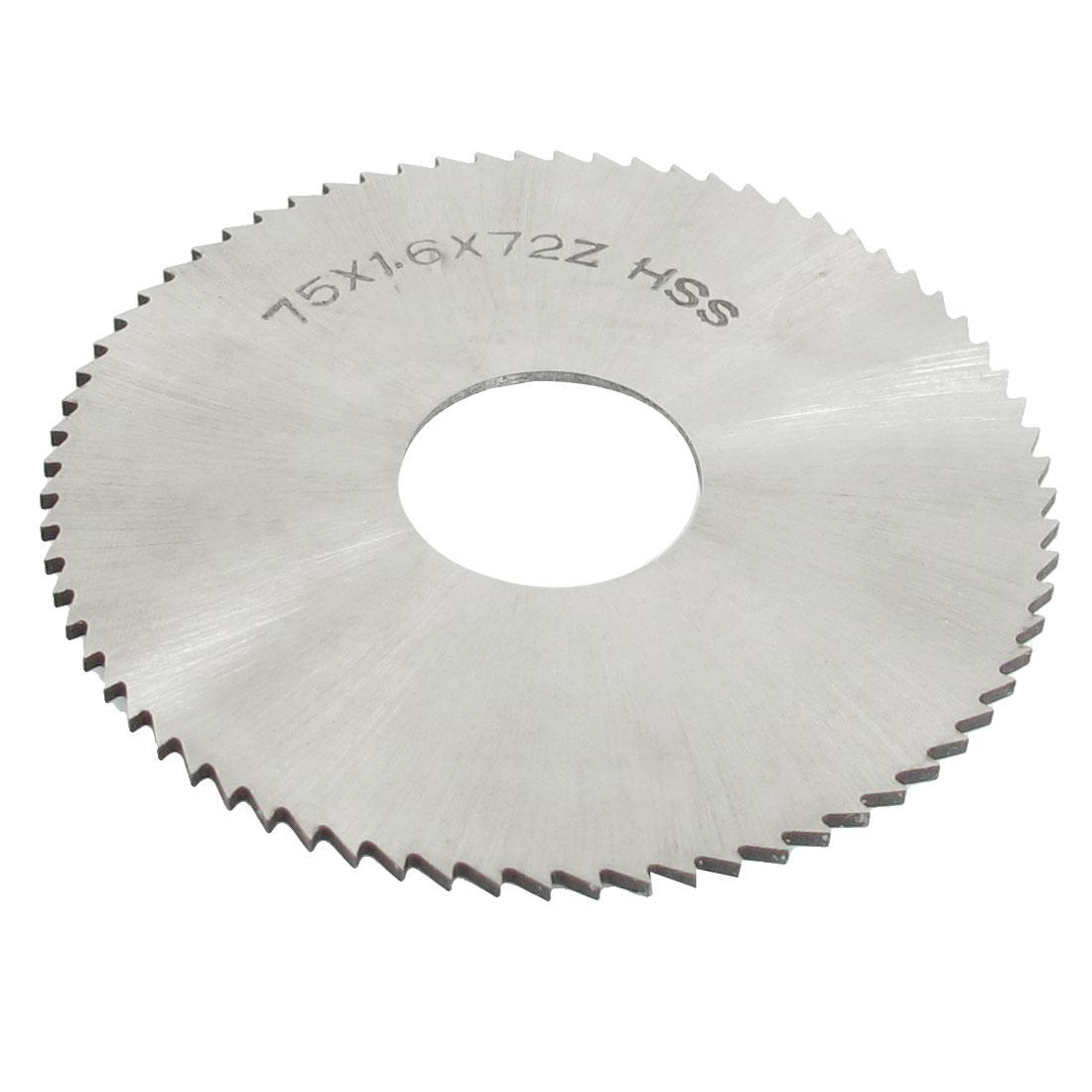 "2 15/16"" x 7/8"" x 1/16"" Circular Rotated HSS Slitting Saw 72 Teeth 72T"