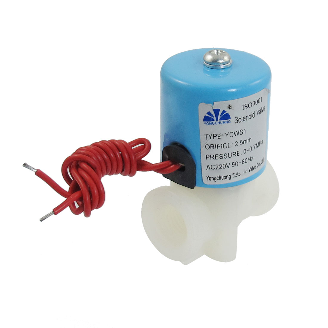 AC 220V 2 Position 2 Way Direct Acting Solenoid Valve YCWS