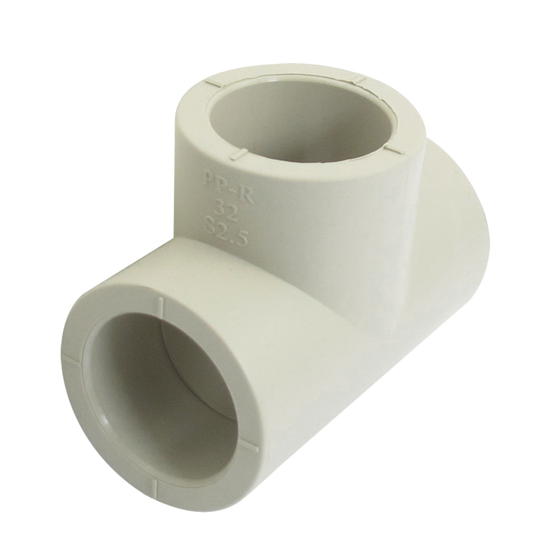 32mm Inner Dia 3 Ways Tee Shaped PPR Pipe Connector Fitting