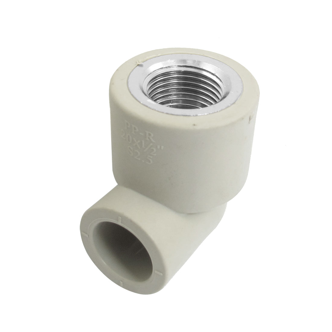 "PPR Pipe Fitting PT 1/2"" Female Thread 20mm Slip Elbow Connector"