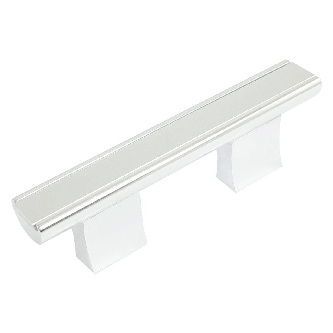 "Cupboard Hardware Concealed Screw Fix Aluminum Bar Grip Pull Handle 3.8"""
