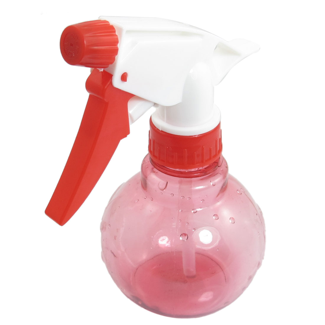 Red Beauty Tool Plastic Water Spraying Sprinkler Bottle 200ml
