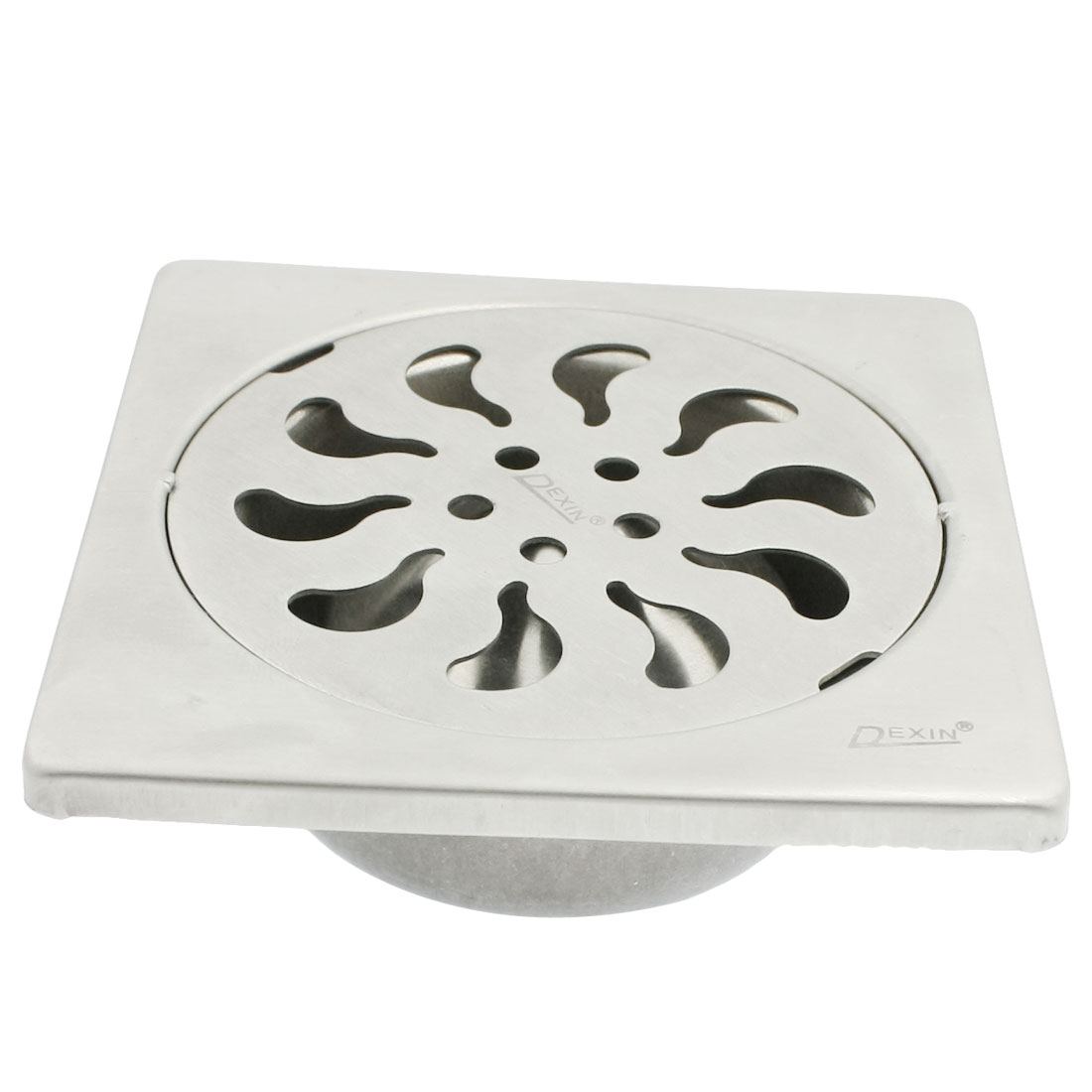 "Kitchen Stainless Steel 3"" Residue Outlet Square Floor Drain Sink Cover"