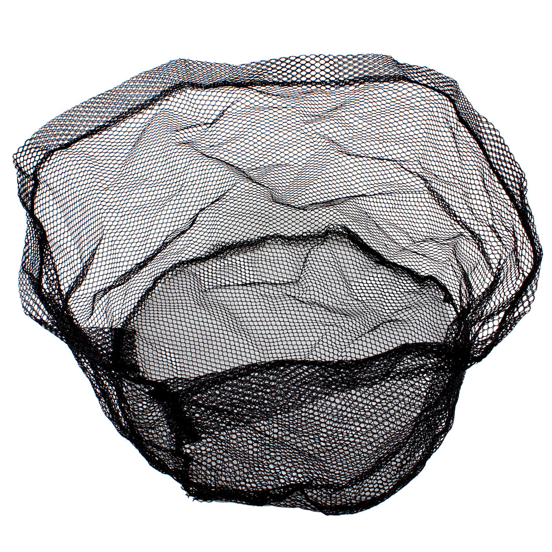 "Black 11.4"" Depth Fishing Landing Net Head 6mm x 3.5mm Mesh"