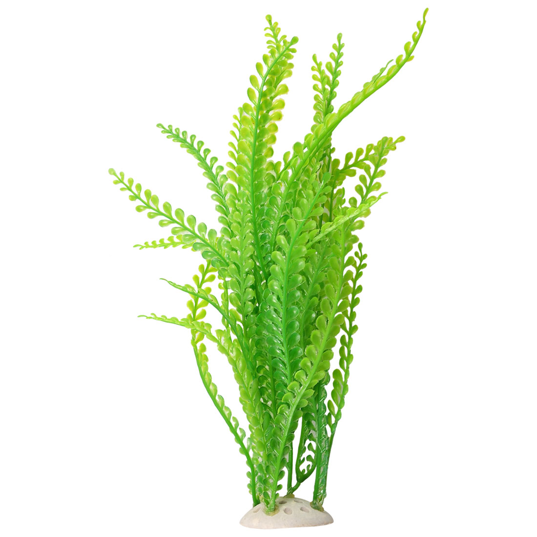 "10.6"" Height Emulational Aquatic Plants Green for Fish Tank"