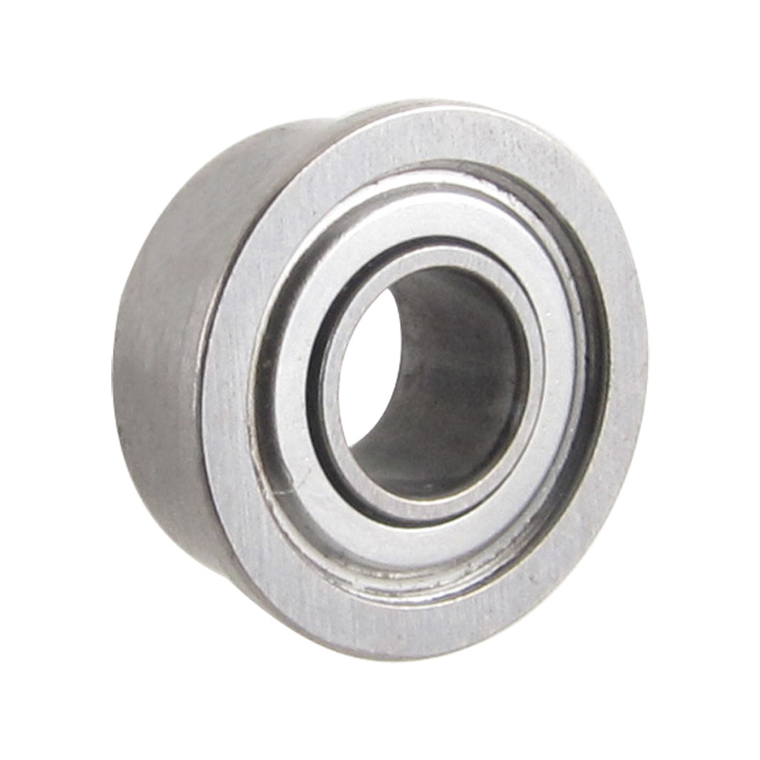 Flanged 5mm x 11mm x 5mm Metal Shields Deep Groove Ball Bearing
