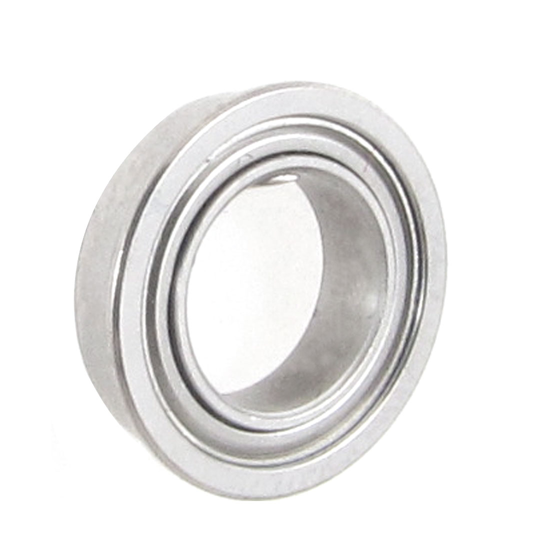 Flanged 7mm x 11mm x 3mm Metal Shields Deep Groove Ball Bearing