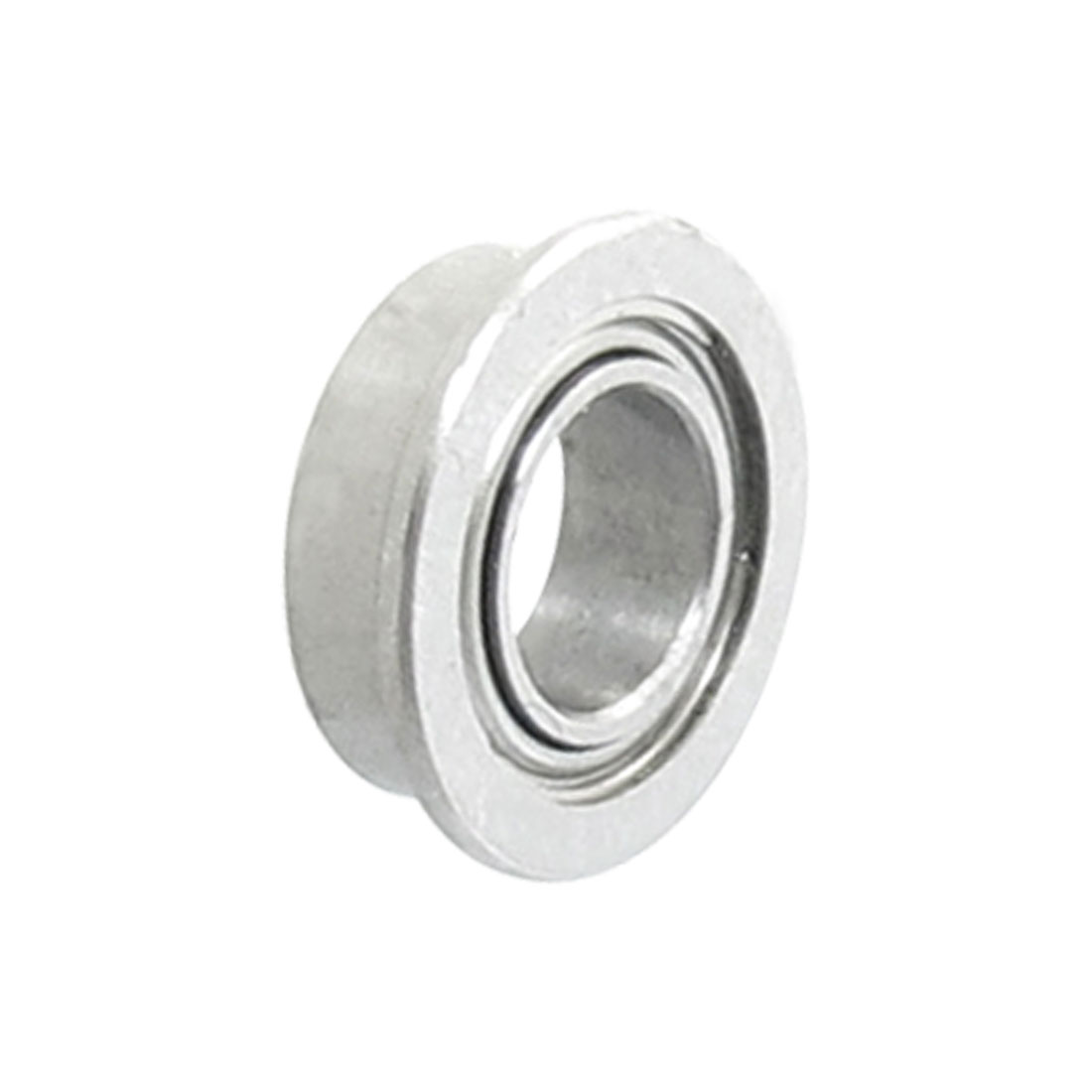 7mm x 4mm x 2.5mm Stainless Steel Sealed Flanged Deep Groove Roller Bearings