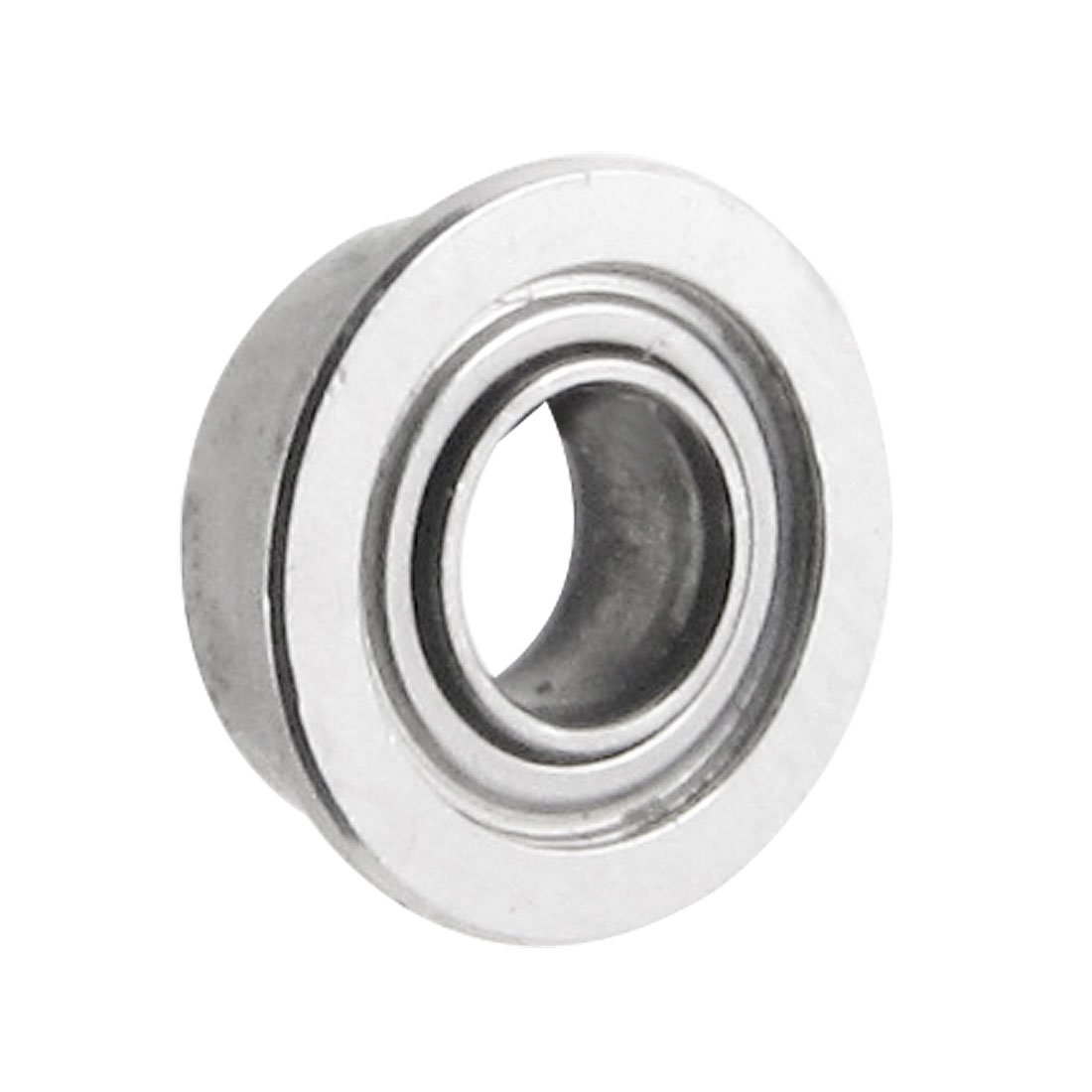 Flanged 3mm x 6mm x 2.5mm Metal Shielded Deep Groove Ball Bearing