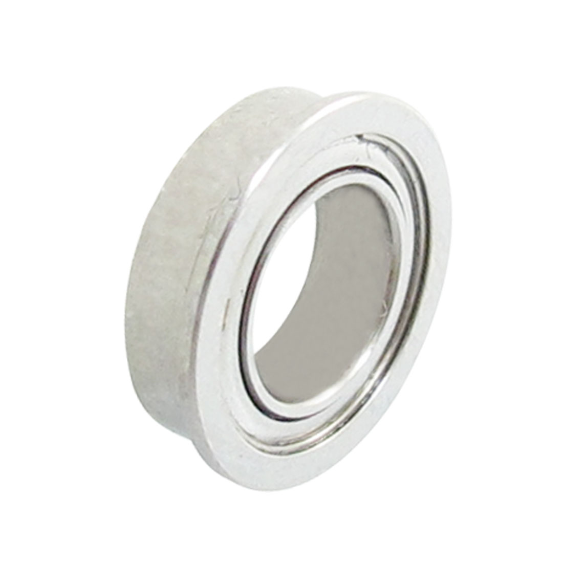 Stainless Steel 10mm x 6mm x 3mm Double Sealed Flange Ball Bearing