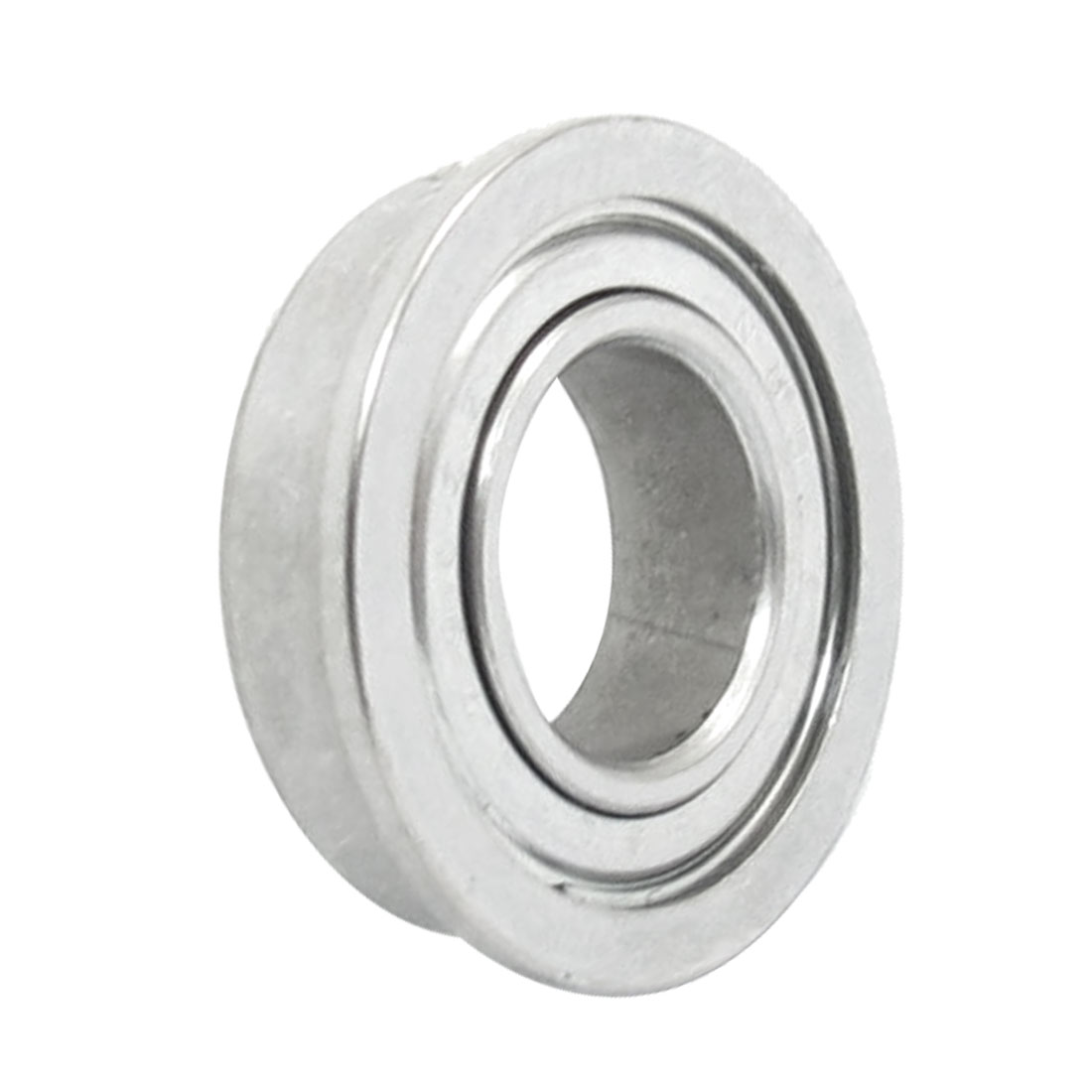 F689 Radial Shielded 17mm x 9mm x 5mm Deep Groove Flange Ball Bearing