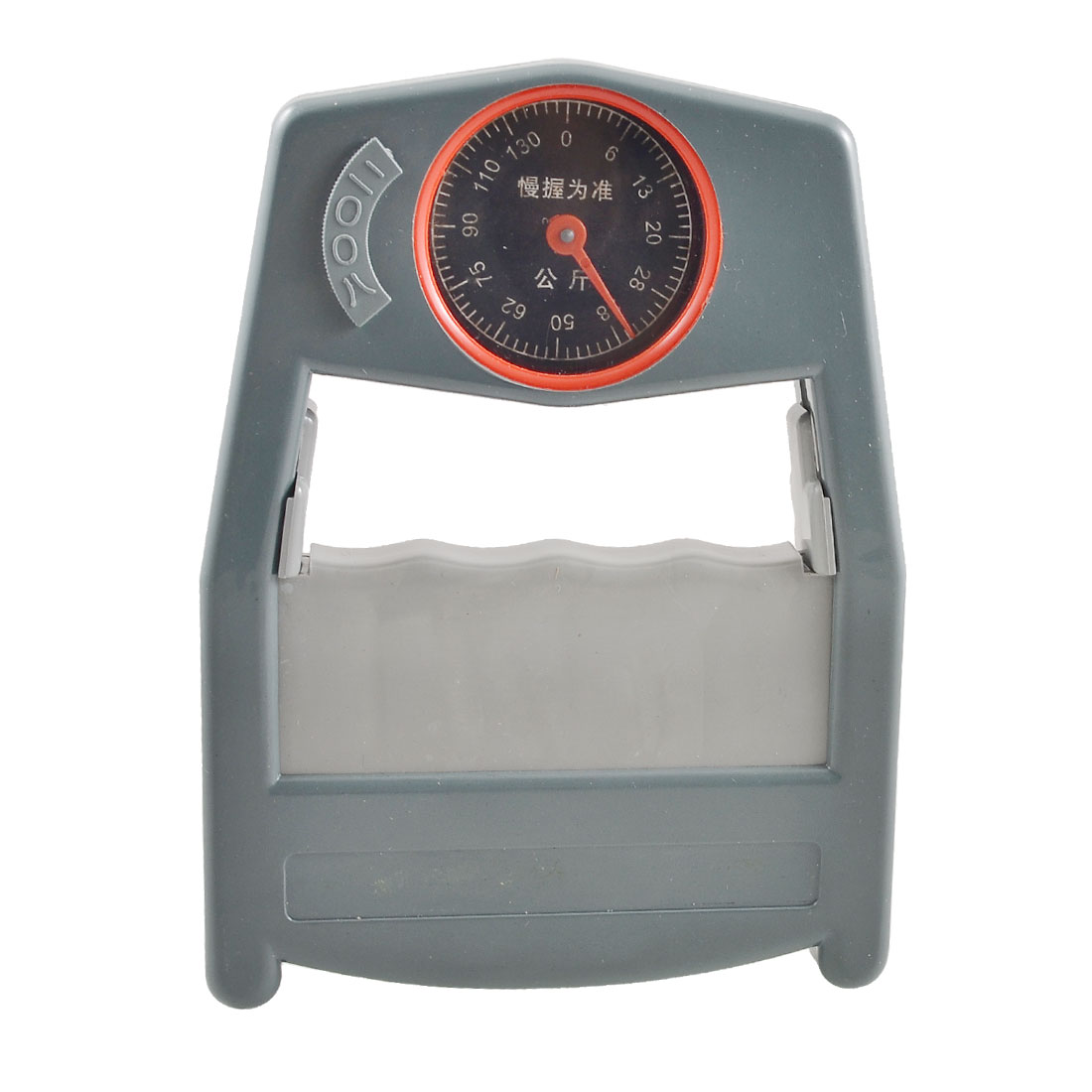 Slate Gray Dynamometer Hand Gripper Strength Power Evaluation Measurement