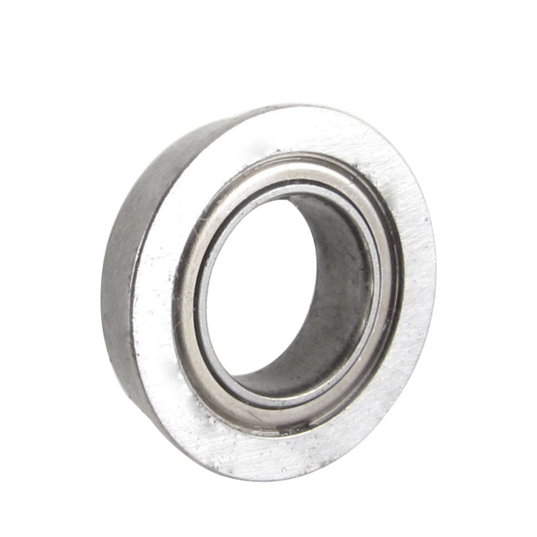 14mm x 8mm x 4mm Silver Tone Sealed Premium Flanged Ball Bearing