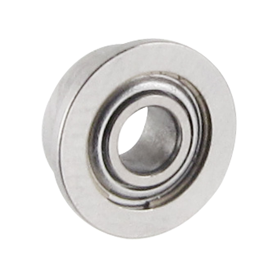 Flanged 2mm x 5mm x 2.3mm Stainless Steel Shields Deep Groove Ball Bearing