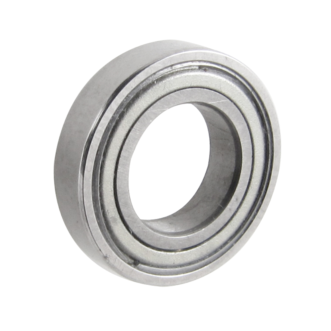 13mm x 7mm x 3mm Metal Sealed Deep Groove Roller Bearings Silver Tone
