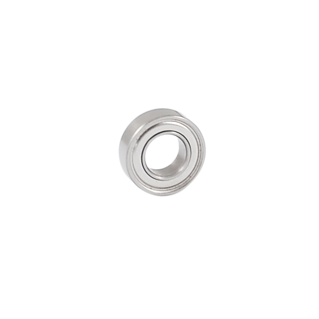 6mm x 12mm x 4mm Shielded Deep Groove Radial Ball Bearing Silver Tone