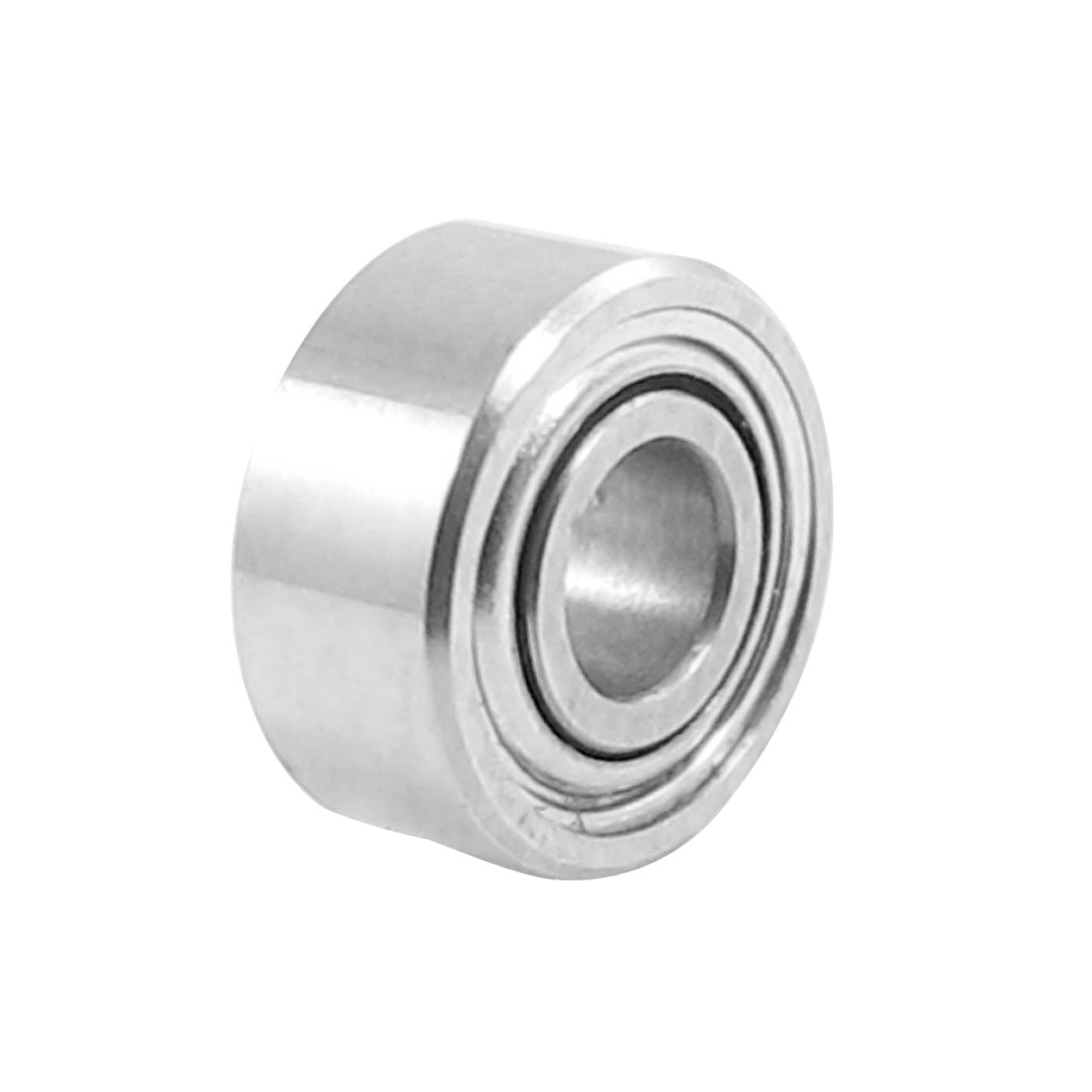 5mm x 2mm x 2.3mm Shielded Deep Groove Ball Shaft Bearing Silver Tone