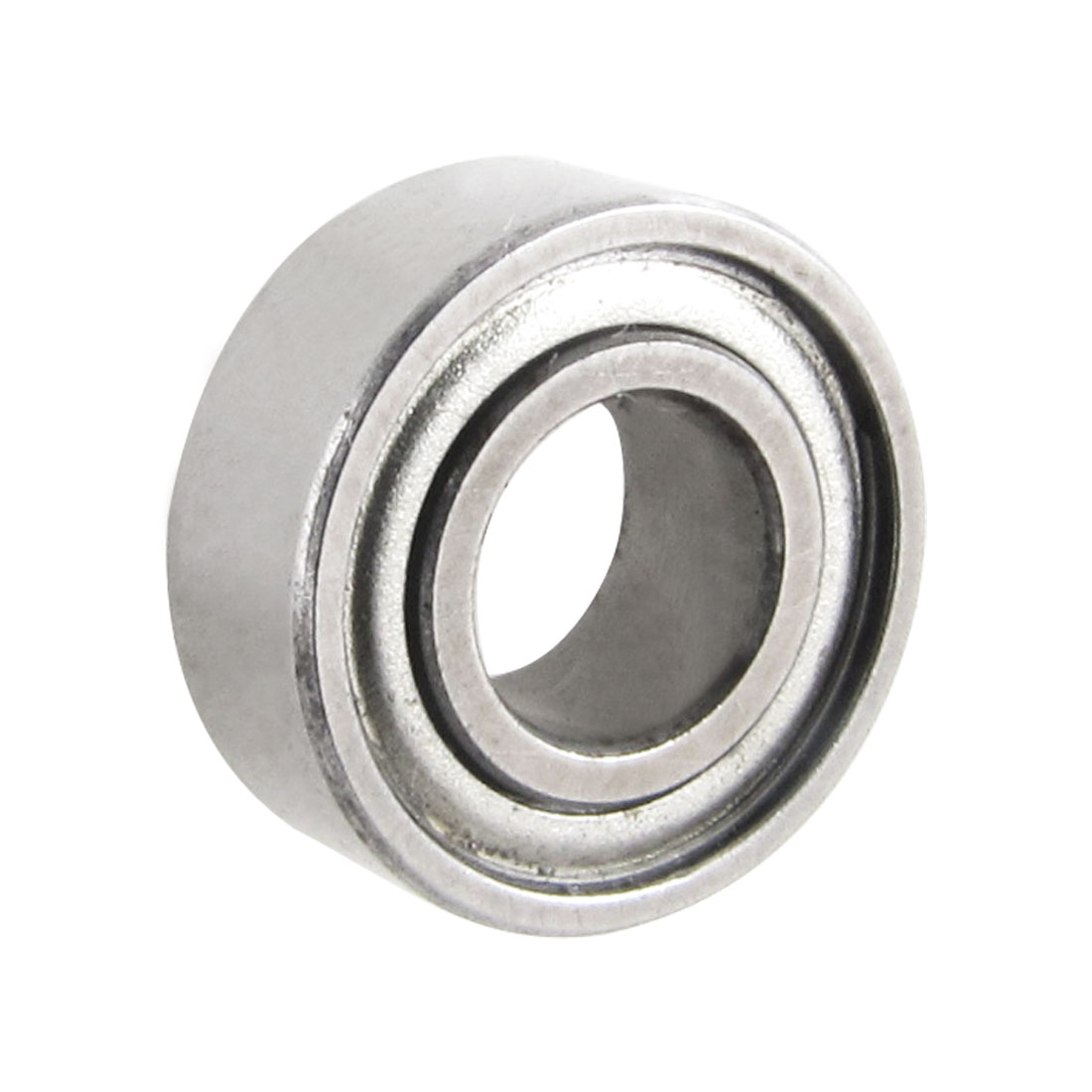 6mm x 13mm x 5mm Shielded Metal Deep Groove Radial Ball Bearing Silver Tone