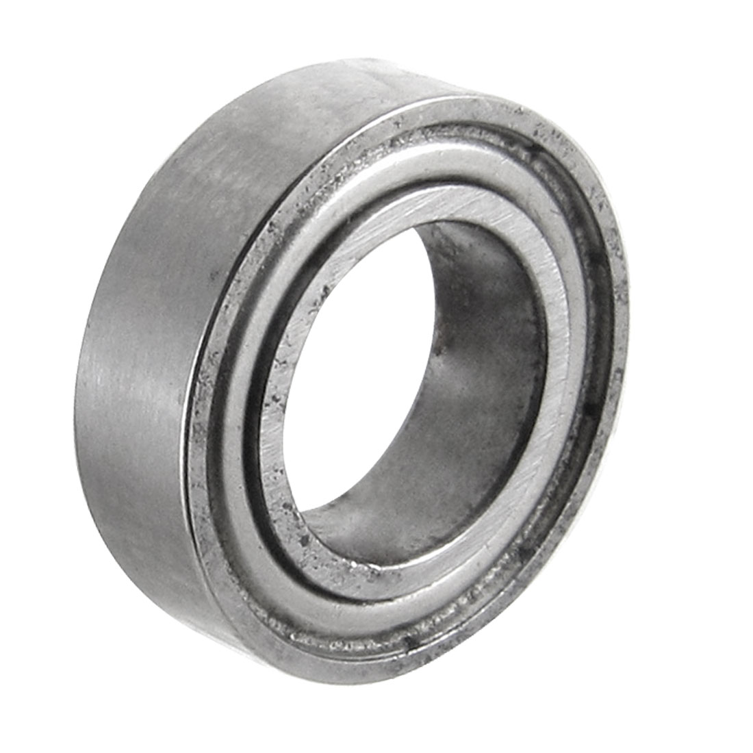8mm x 14mm x 4mm Shielded Deep Groove Radial Ball Bearing Silver Tone