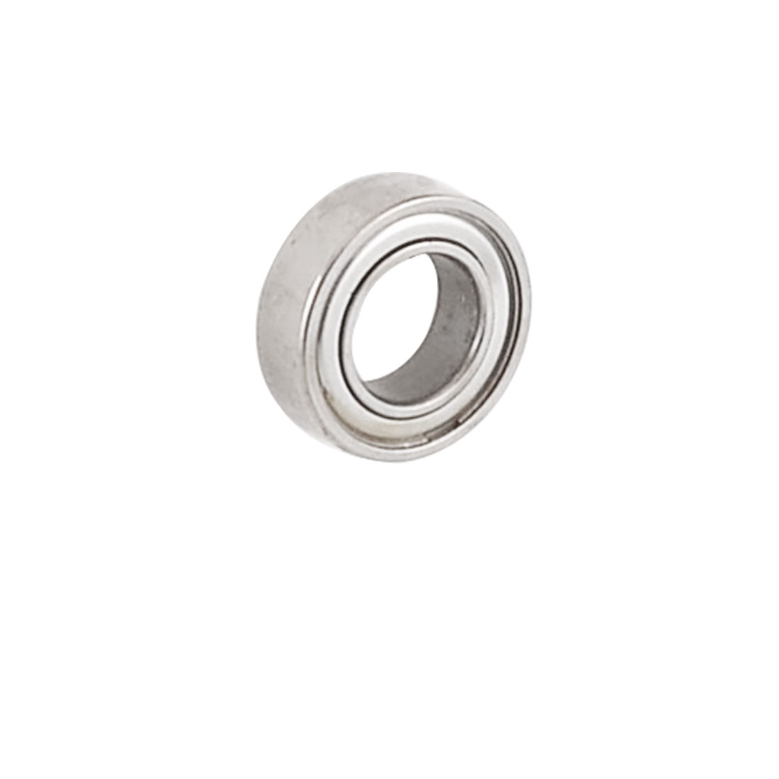 13mm x 7mm x 4mm Shielded Deep Groove Ball Shaft Bearing Silver Tone