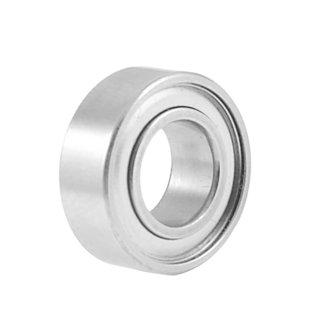 14mm x 7mm x 5mm Shielded Deep Groove Ball Shaft Bearing Silver Tone