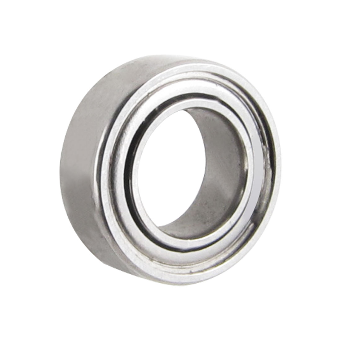 9mm x 5mm x 3mm Silver Tone Sealed Deep Groove Roller Bearings