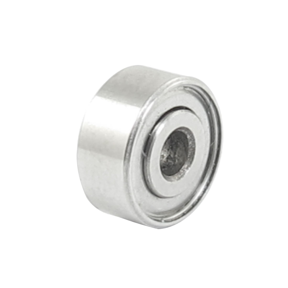 8mm x 2.5mm x 4mm Shielded Deep Groove Radial Ball Bearing Silver Tone