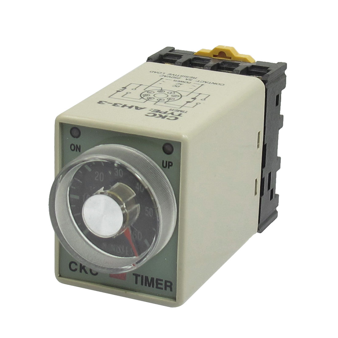 AC 380V 0-60Min. 60Minute 8P Electric Delay Timer Timing Relay + Base