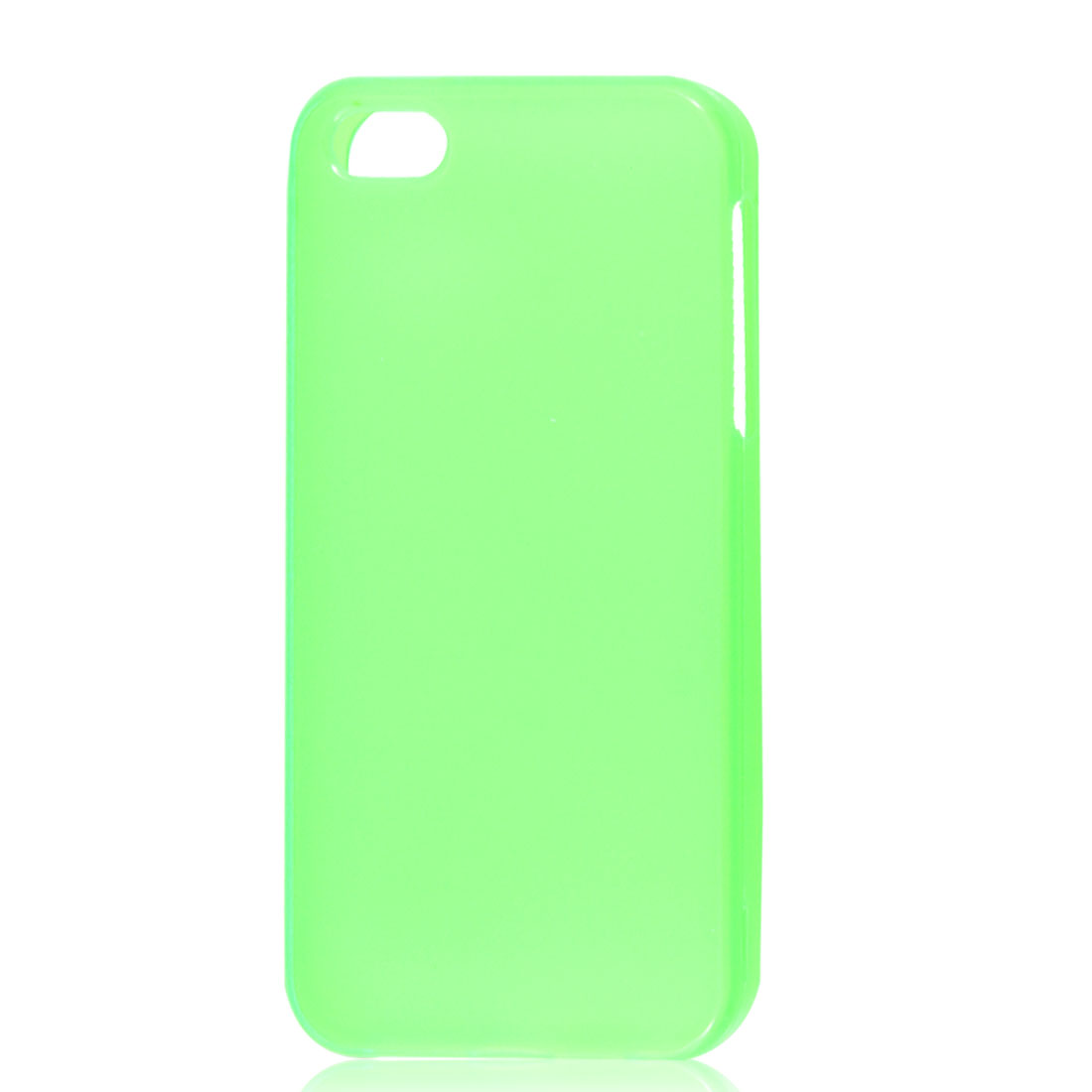 Clear Green TPU Soft Case Cover for Apple iPhone 5 5G 5th