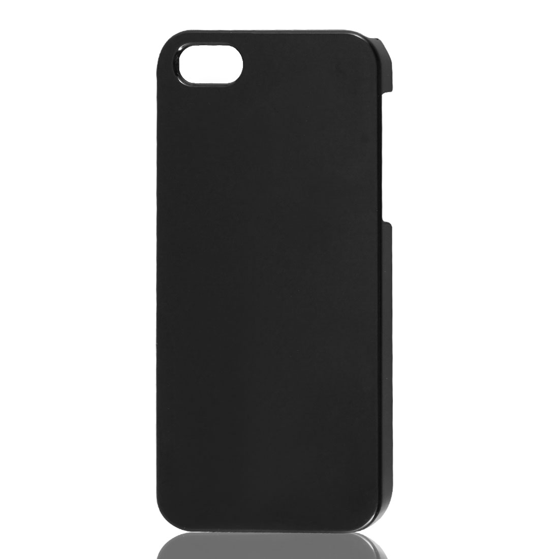 Plastic Black Hard Back Case Cover Protector for Apple iPhone 5 5G