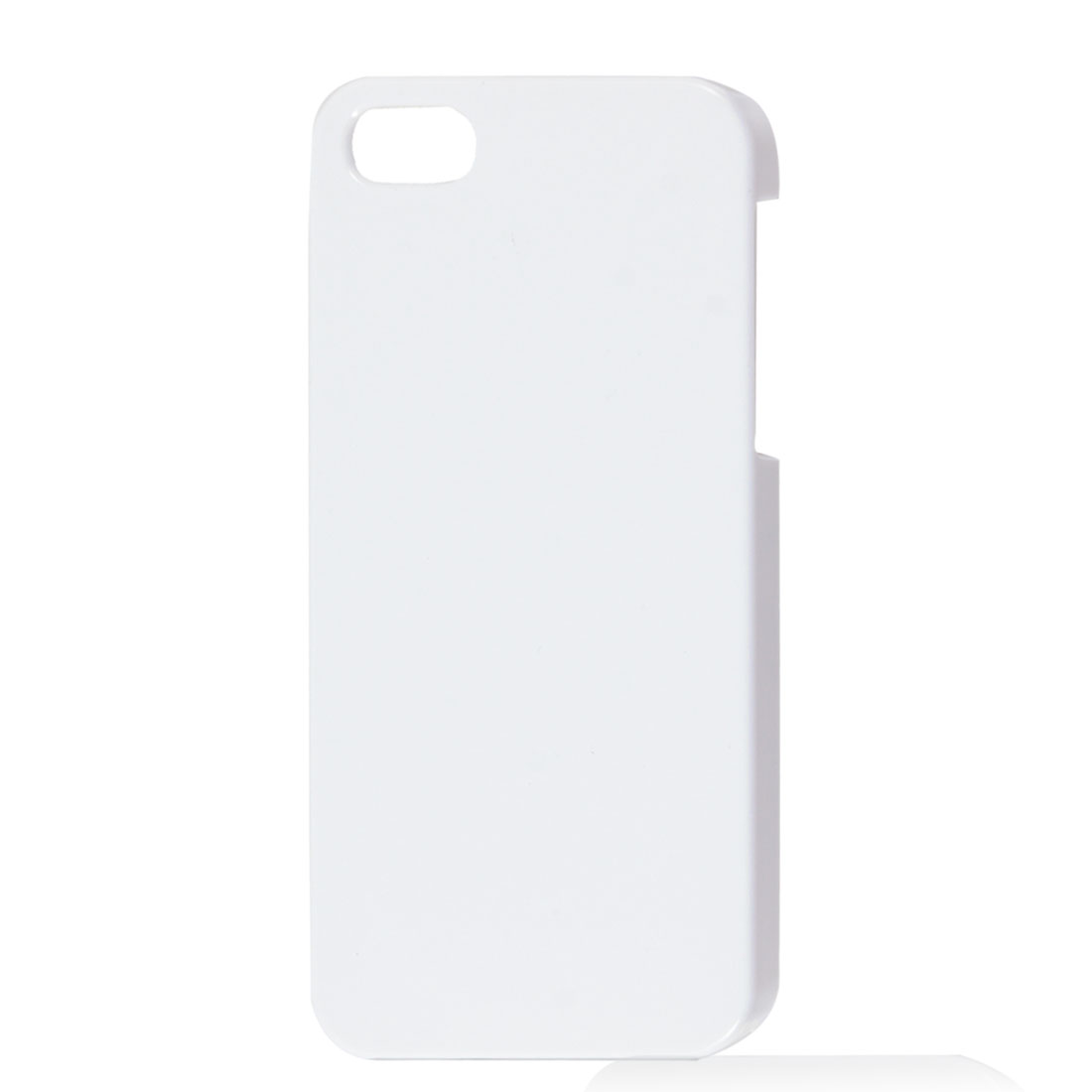 White Plastic Hard Back Case Cover for Apple iPhone 5 5G 5th