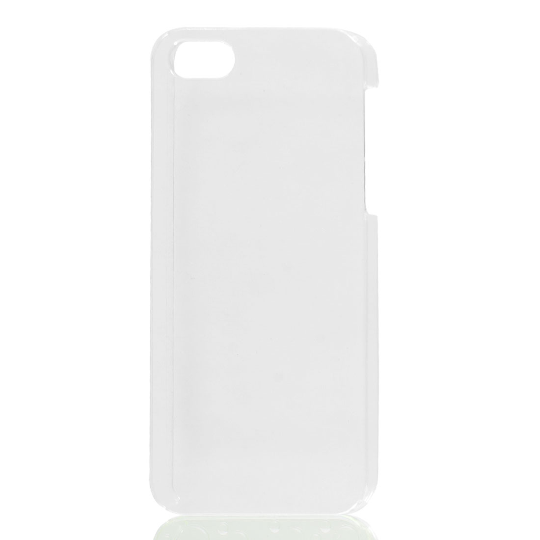 Plastic Hard Back Case Protective Cover Clear for iPhone 5 5G 5th Gen