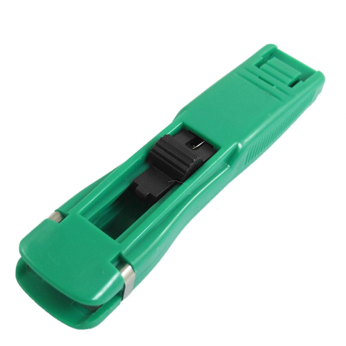 Green Plastic Housing 20 Pcs Sheet Metal Clamp Dispenser w 40 Pcs Clips
