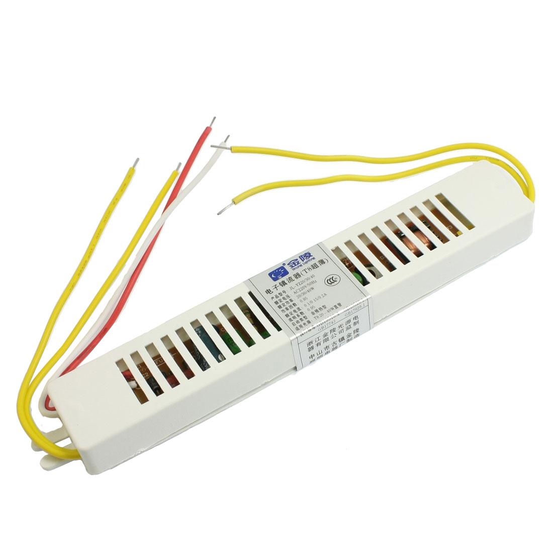 AC 220V 40W Energy Saving T8 Fluorescent Light Lamp Ballast