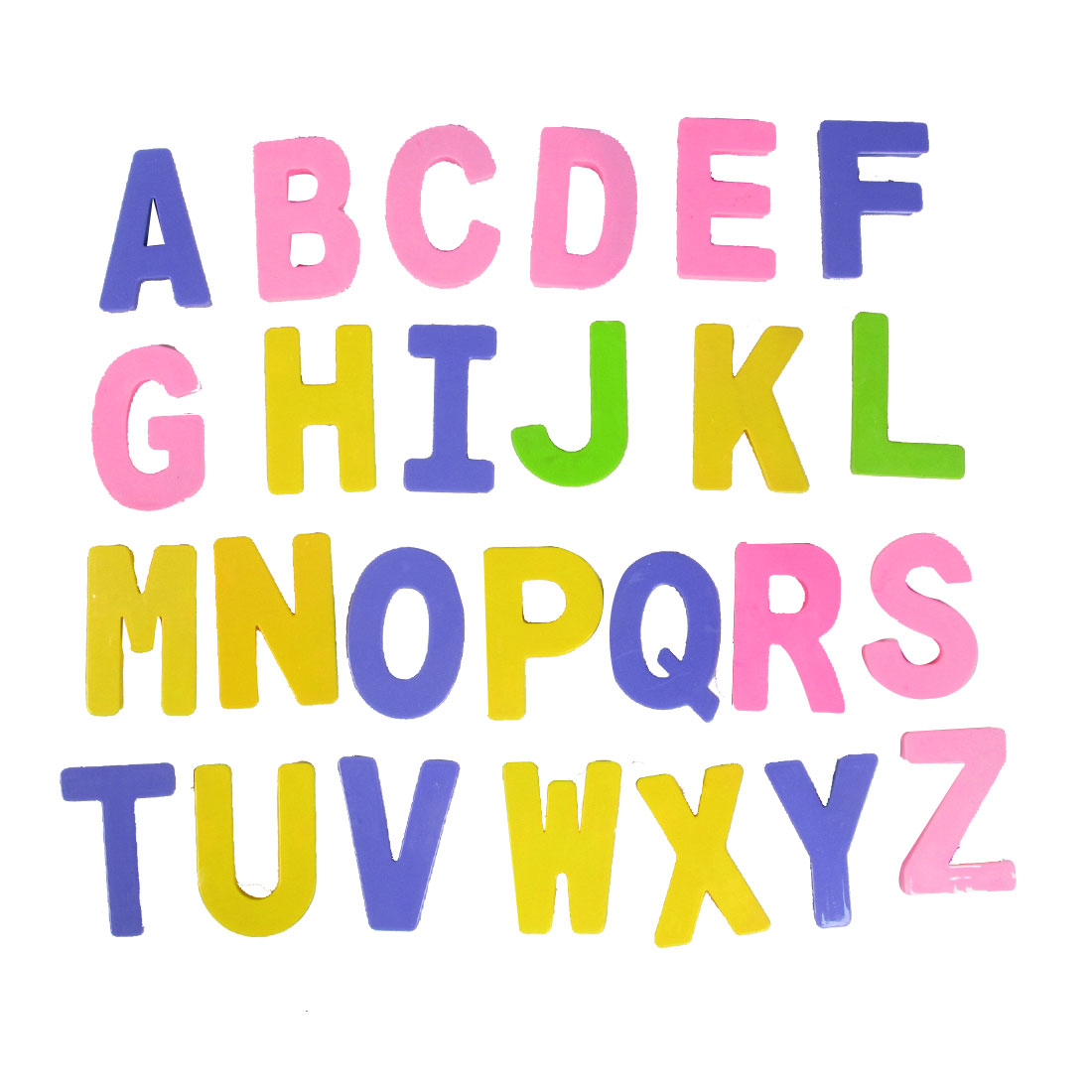 Children Assorted Color Plastic Education English Letters Toy 26 in 1