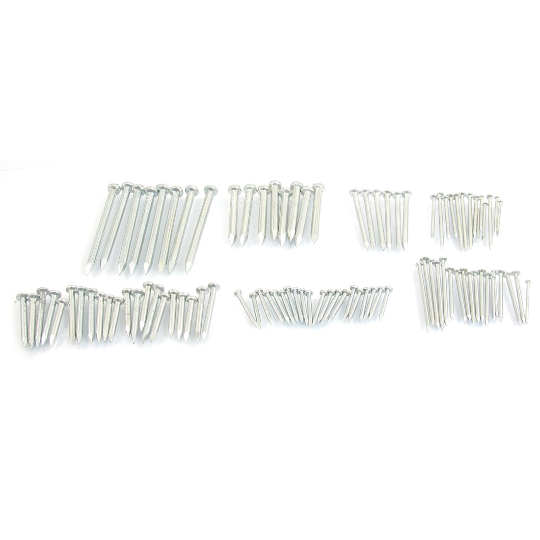 95 Pcs Hardware Part 10 Sizes Metal Wire Nails Fitting Set