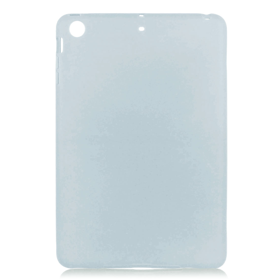 Light Gray Soft Plastic Case Cover Protector for Apple iPad Mini