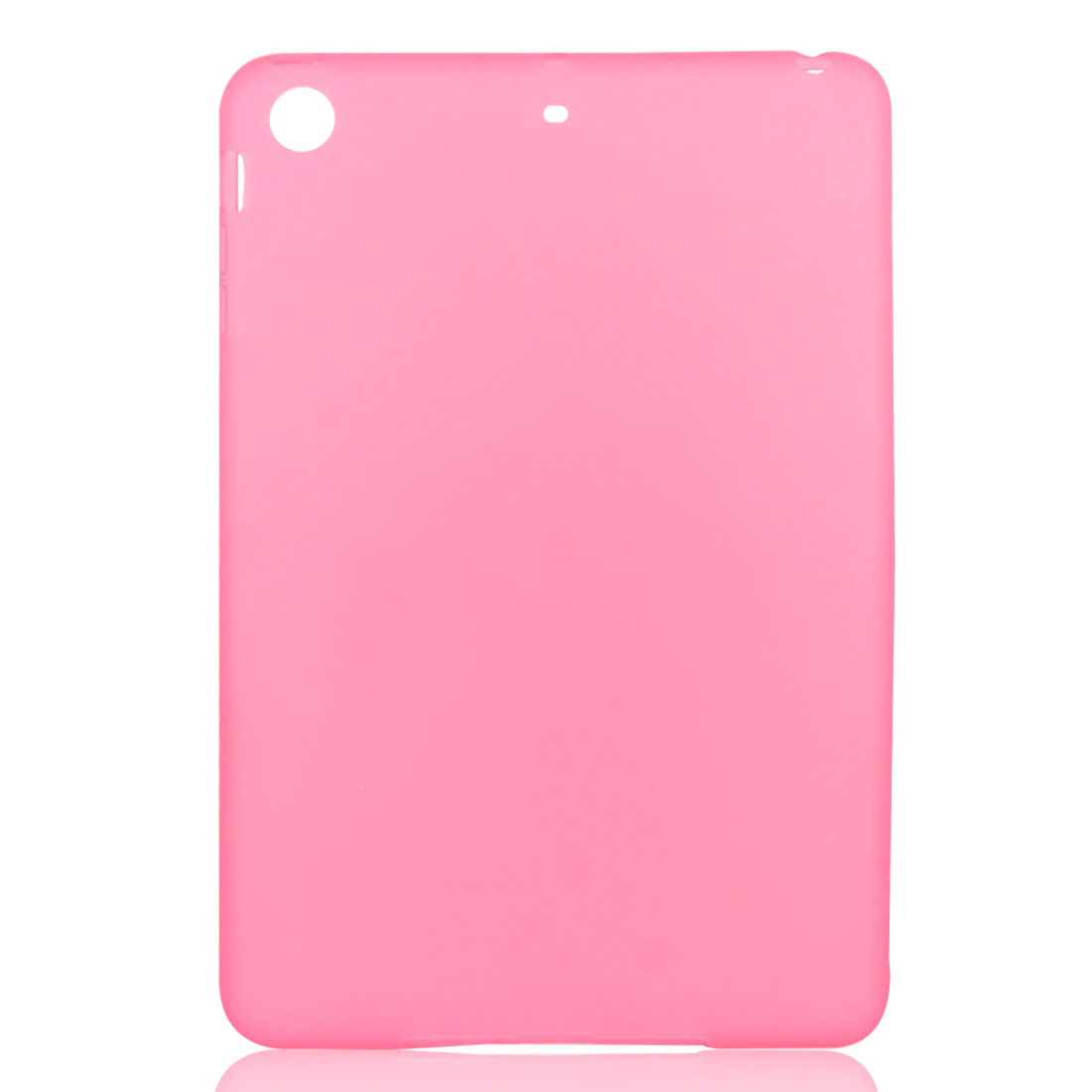 Pink Soft Plastic Case Cover Protector for Apple iPad Mini