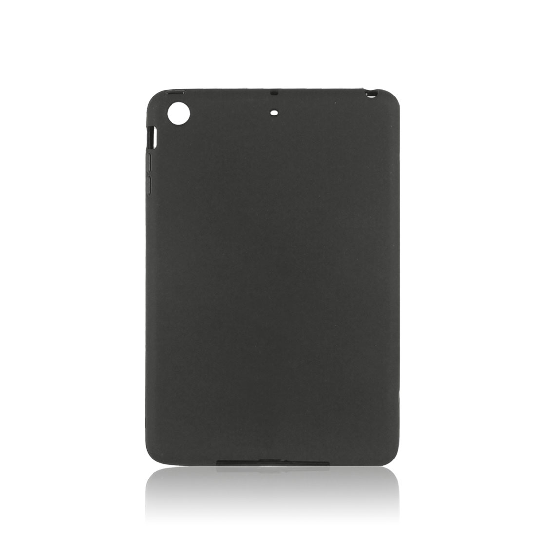 Black Soft Plastic Case Cover Protector for Apple iPad Mini