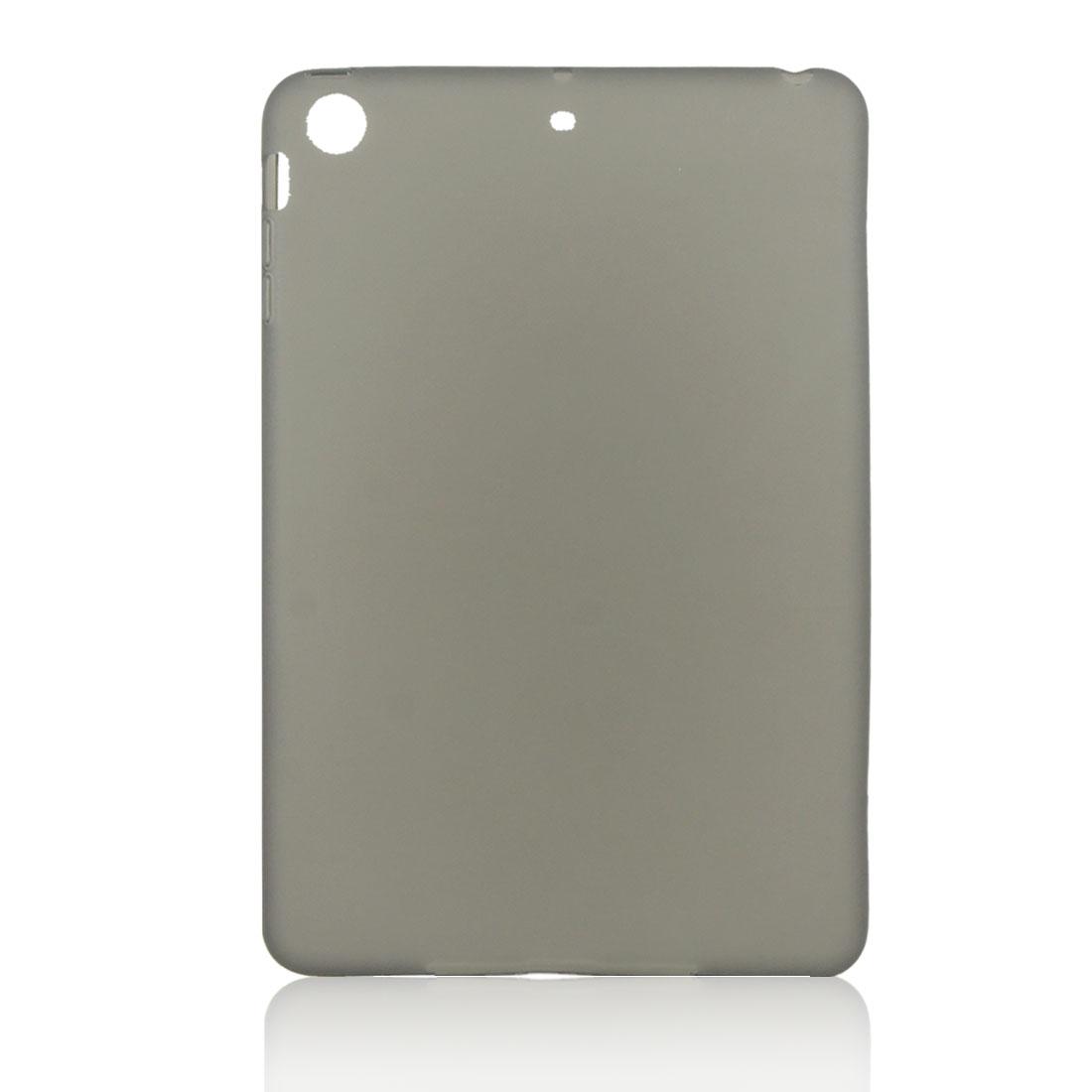 Dark Gray Soft Plastic Case Cover Protector for Apple iPad Mini