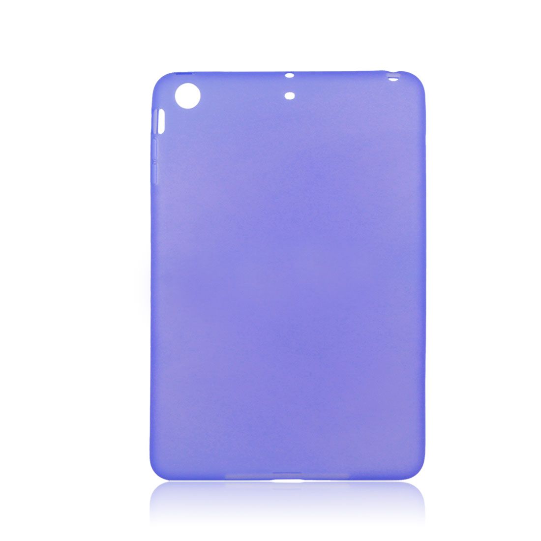 Purple Soft Plastic Case Cover Protector for Apple iPad Mini