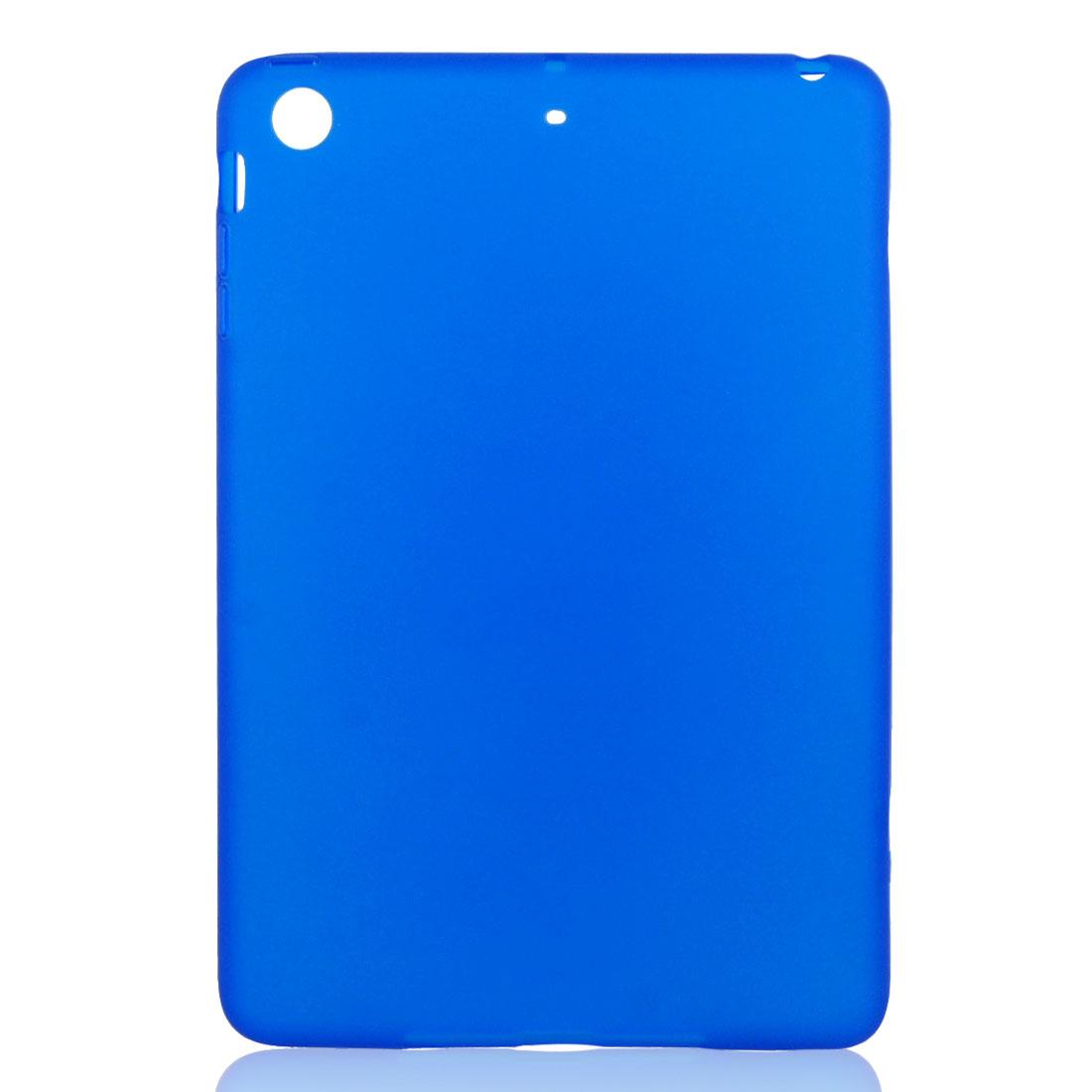 Dark Blue Soft Plastic Case Cover Protector for Apple iPad Mini