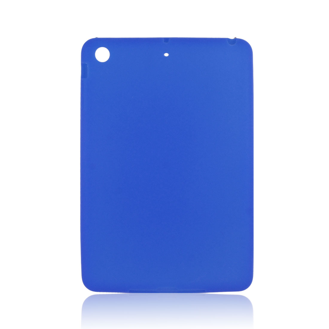 Blue Soft Silicone Skin Case Cover Protector for Apple iPad Mini