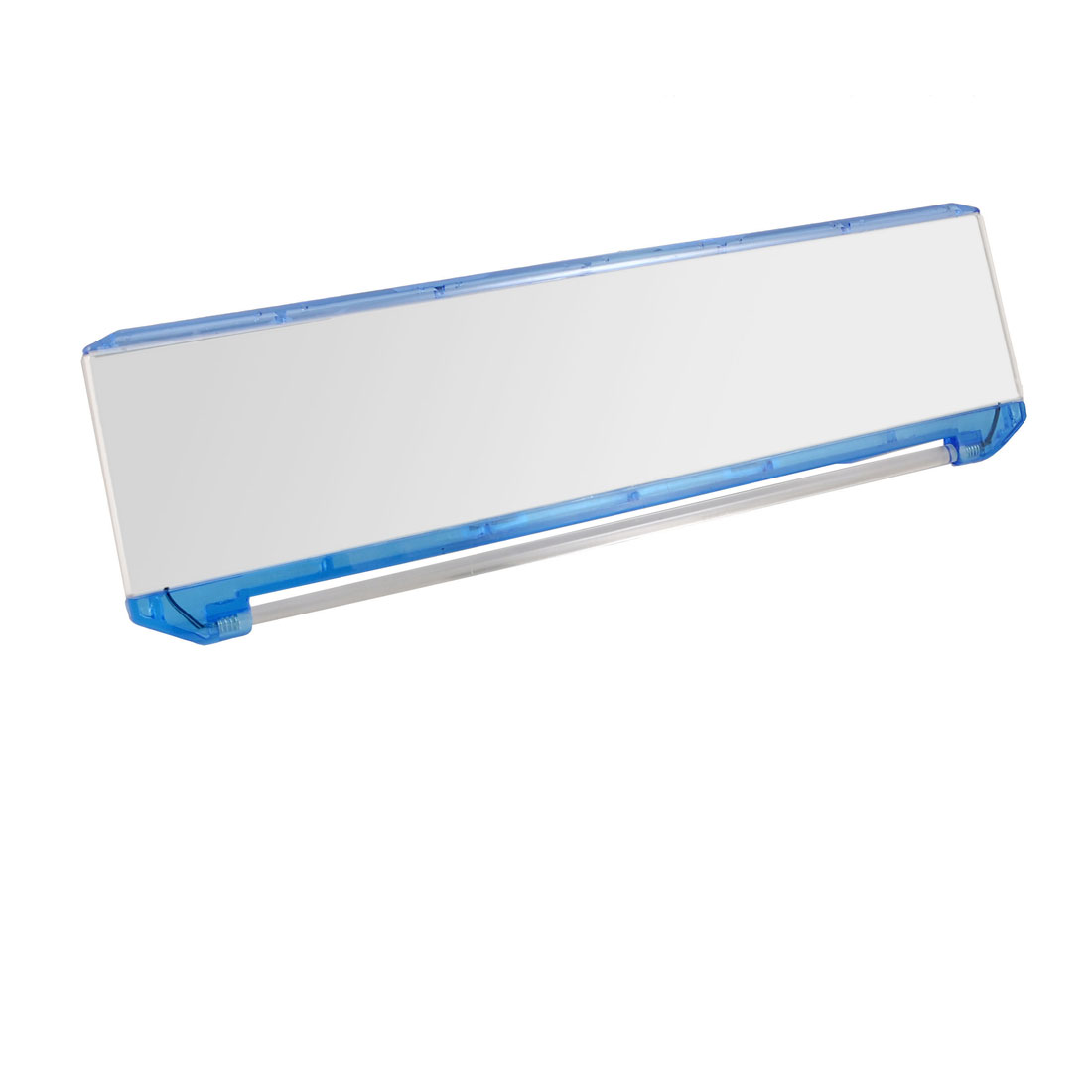 Blue LED Bar Wide 300mm Car Interior Curved Rear View Mirror