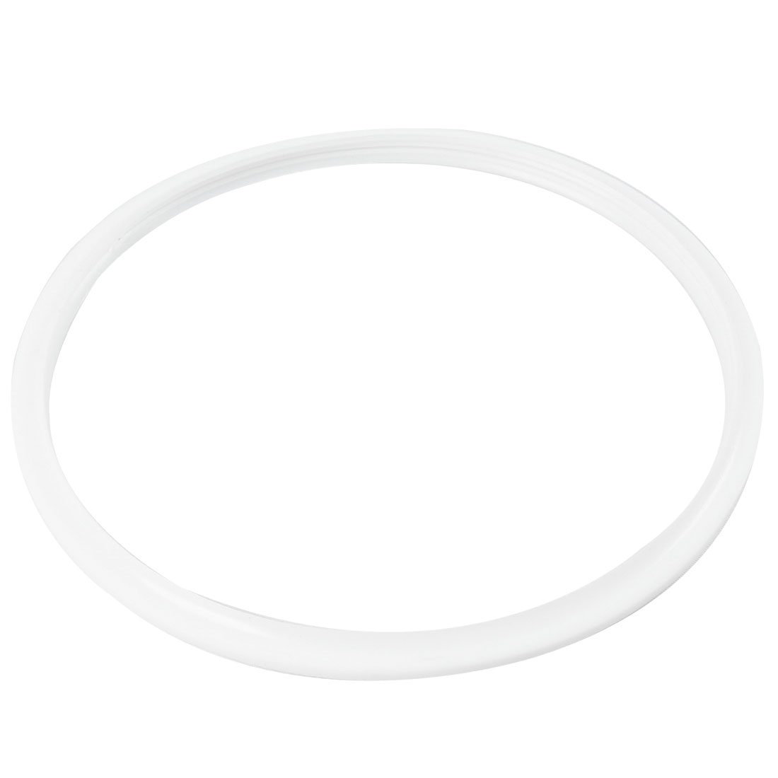 "8.1"" Inner Dia Soft White Rubber Seal Ring Replacement for Pressure Cooker"
