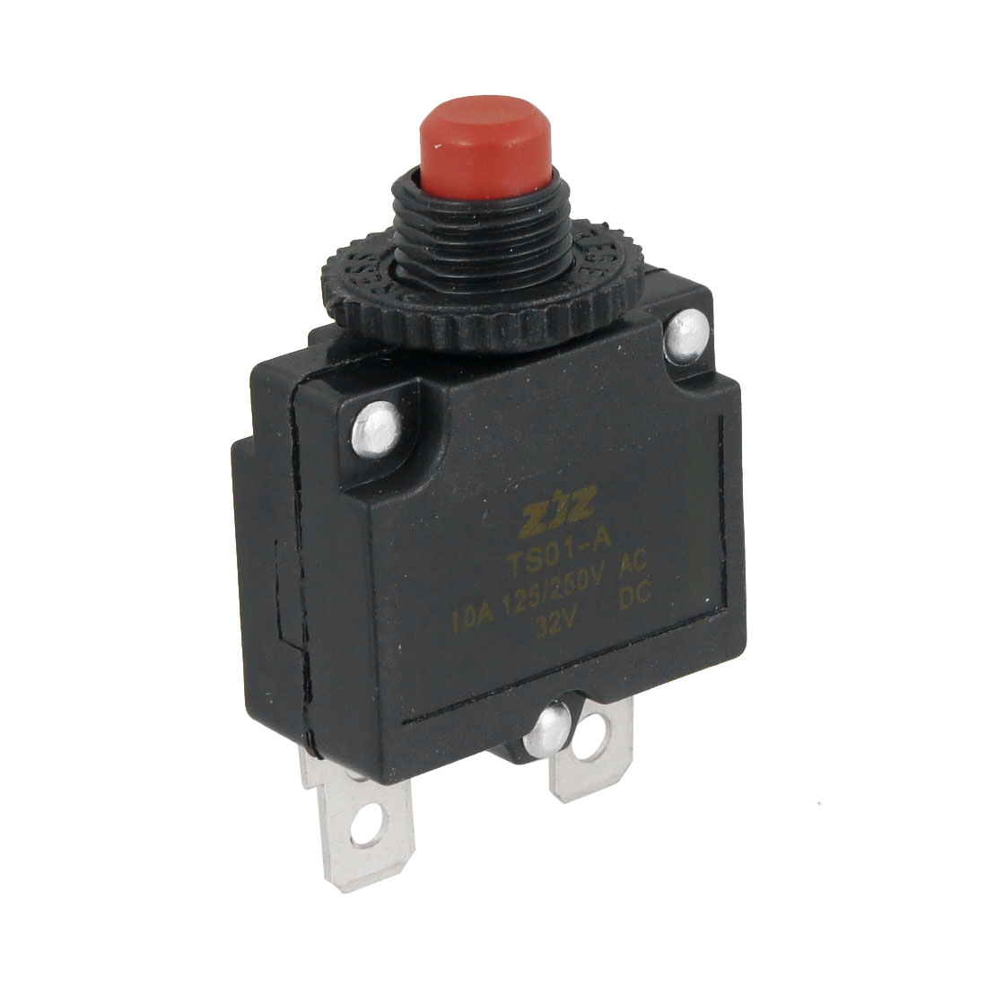 "1.8"" Tall AC 10A Circuit Breaker Overload Protector for Air Compressor"