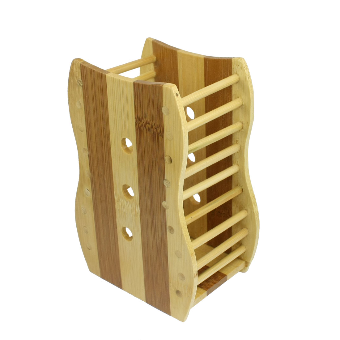 Business Office Wooden Wood Multi-functional Pen Holder