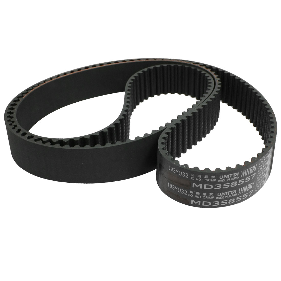 193YU32-S-O Black Rubber 193 Round Tooth Car Timing Belt